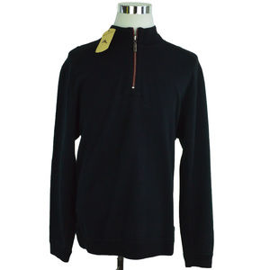 NEW Tommy Bahama Mens Sweater XL Reversible Black